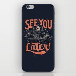See You iPhone Skin