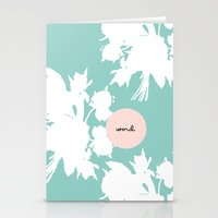 word Stationery Cards featuring Word. by Miss Modern Shop