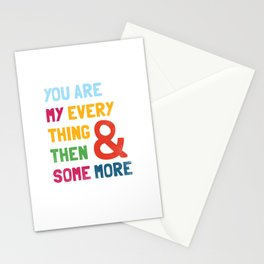 & Then Some More Stationery Cards