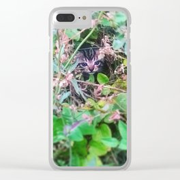 Smelly cat Clear iPhone Case