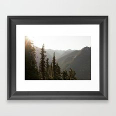 North Cascades XVIII Framed Art Print