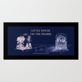 Little house of the rising sun Art Print