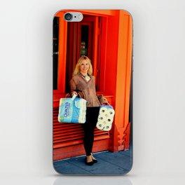 Gotta Thing For Orange iPhone Skin