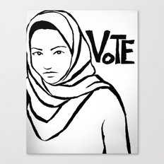 Vote!!!  Canvas Print