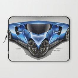 Blue Car 001 Laptop Sleeve