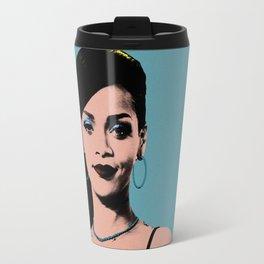 Rihanna Pop Art Travel Mug