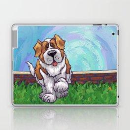 Animal Parade St. Bernard Laptop & iPad Skin