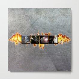 Welders Metal Print