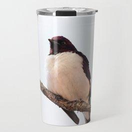 Purching Bird Travel Mug