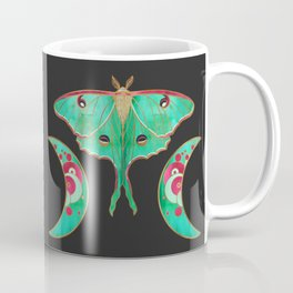 Luna Moth and Triple Moon Coffee Mug