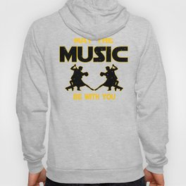 Salsa Dancer May The Music Be With You Hoody