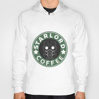 starlord Hoodies featuring Starlord coffee by withoutwax94