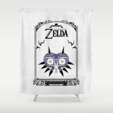 Zelda legend - Majora's mask Shower Curtain