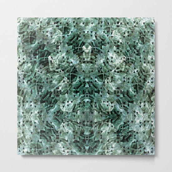 Green rocks Metal Print