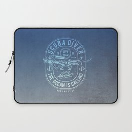 The Ocean Is Calling And I must Go Scuba Diving Laptop Sleeve