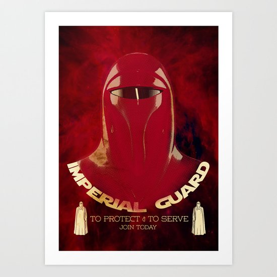 Imperial Guard Art Print