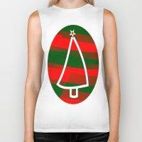discount Biker Tanks featuring In Christmas mood by Roxana Jordan