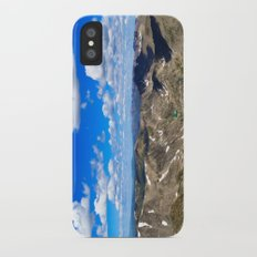 Above the World Slim Case iPhone X