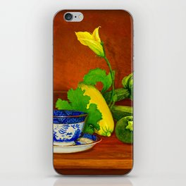 Teacup with Squash iPhone Skin