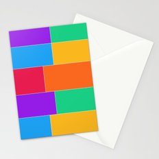 Patched Together Stationery Cards