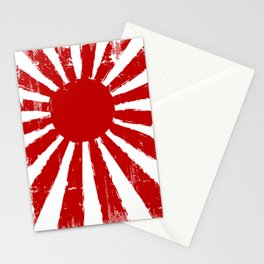 Japan Rising Sun Stationery Cards