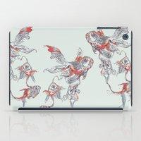 huebucket iPad Cases featuring Floating in Deep by Huebucket
