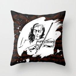 Paganini (2) Throw Pillow