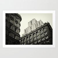 montreal Art Prints featuring Montreal by Snablab