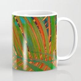 TROPICAL LEAVES POP-ART no4 Coffee Mug