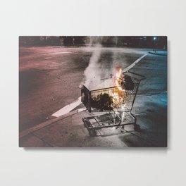 bumFIRE Metal Print