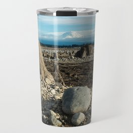 The bottom of Lake Tapps, Washington Travel Mug
