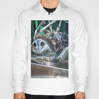 ford Hoodies featuring Ford V8 by Shalisa Photography