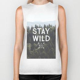 Stay Wild - Mountain Pines Biker Tank