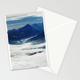 Mountain tops - 223 Stationery Cards