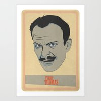 terry fan Art Prints featuring Terry by Thomas Saunders