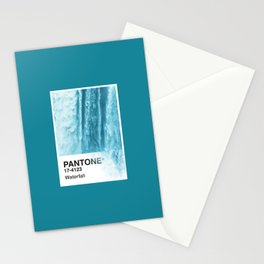 PANTONE SERIES – WATERFALL Stationery Cards