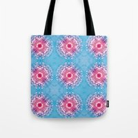 diamonds Tote Bags featuring Diamonds by ARTDROID