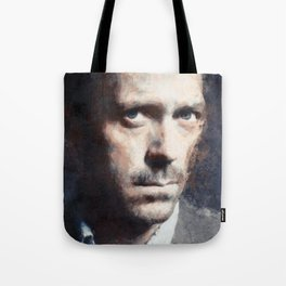 Hugh Laurie painting Tote Bag