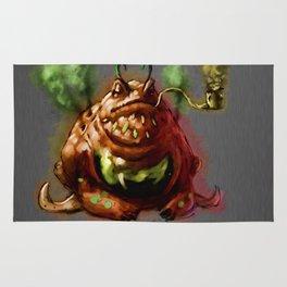 Smoky toad Rug