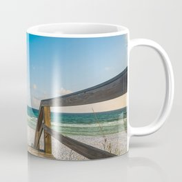 Head to the Beach - Boardwalk Leads to Summer Fun in Florida Coffee Mug