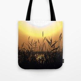 Seagrass - Summersunset - Isle Ruegen Tote Bag