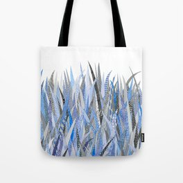Blue Security Grass Tote Bag