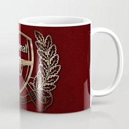 Arsenal Gold Design Coffee Mug