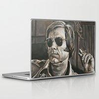 phil jones Laptop & iPad Skins featuring Jones by Buddy Owens Paintings