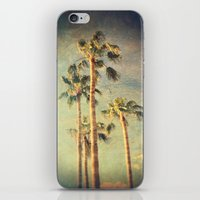 palms iPhone & iPod Skins featuring palms by Sylvia Cook Photography