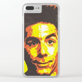 Cosmo Kramer Clear iPhone Case