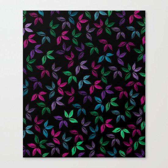 Flower Pattern X Canvas Print