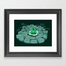 Save The Forest Framed Art Print