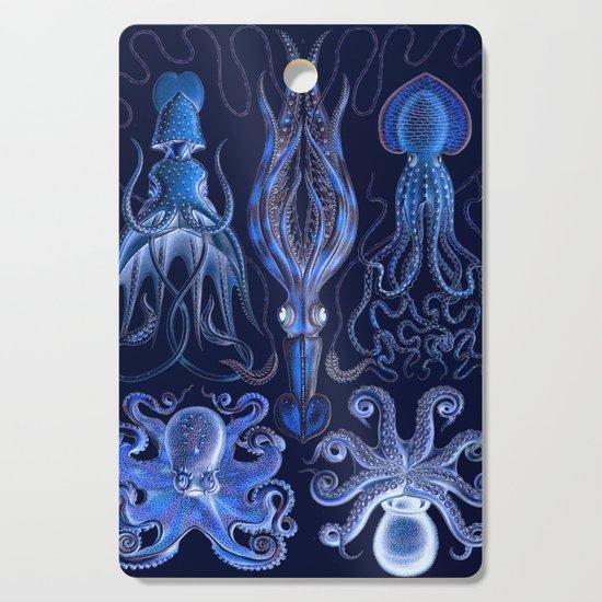 Haeckel Octopi by alphavariable