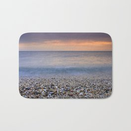 """Serenity sea"". Calm days at the sea Bath Mat"